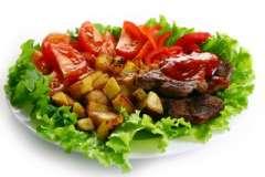 """Вкусные рецепты: Моя творожно-йогуртовая """"Черепаха"""", Салат из курицы, зеленой фасоли и риса, Рулет из соленой рыбы (вариант)"""